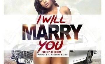Strict Stylin ft Moesha Bodoung - I Will Marry You