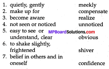 MP Board Class 8th Special English Chapter 7 Nothing You Can't Do 2