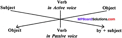 MP Board Class 11th General English Grammar Active and Passive Voice 1