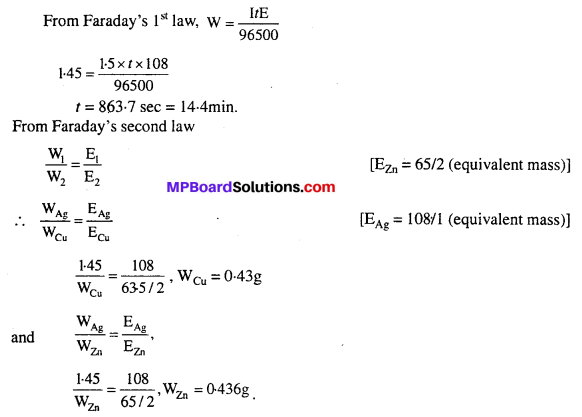 MP Board Class 12th Chemistry Solutions Chapter 3 Electrochemistry 35