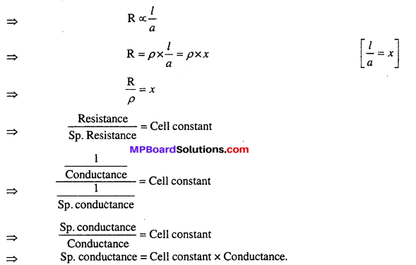 MP Board Class 12th Chemistry Solutions Chapter 3 Electrochemistry 62