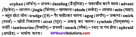 MP Board Class 11th English The Spectrum Solutions Chapter 8 Idgah 1