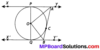 MP Board Class 10th Maths Solutions Chapter 10 Circles Ex 10.2 9