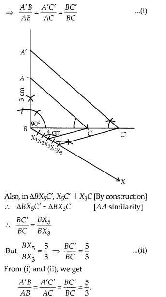 MP Board Class 10th Maths Solutions Chapter 11 Constructions Ex 11.1 12
