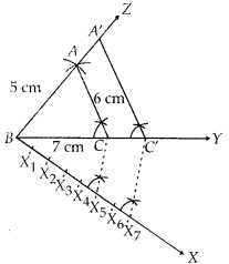 MP Board Class 10th Maths Solutions Chapter 11 Constructions Ex 11.1 4