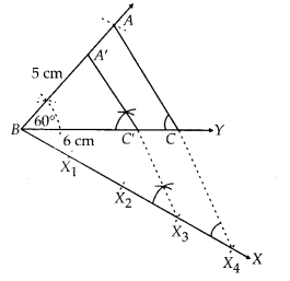 MP Board Class 10th Maths Solutions Chapter 11 Constructions Ex 11.1 8