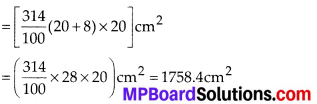 MP Board Class 10th Maths Solutions Chapter 13 Surface Areas and Volumes Ex 13.4 8