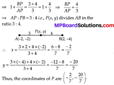 MP Board Class 10th Maths Solutions Chapter 7 Coordinate Geometry Ex 7.2 11
