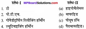 MP Board Class 11th Biology Solutions Chapter 22 रासायनिक समन्वय तथा एकीकरण - 4