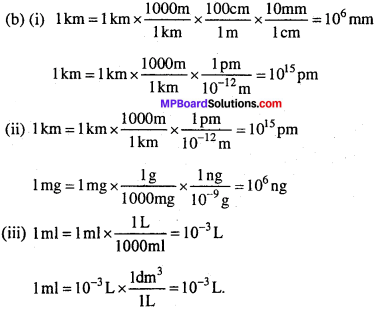 MP Board Class 11th Chemistry Solutions Chapter 1 रसायन विज्ञान की कुछ मूल अवधारणाएँ - 12