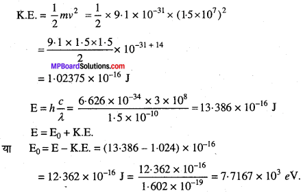 MP Board Class 11th Chemistry Solutions Chapter 2 परमाणु की संरचना - 25