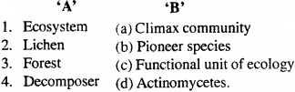 MP Board Class 12th Biology Important Questions Chapter 14 Ecosystem 2