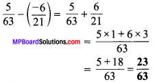 MP Board Class 7th Maths Solutions Chapter 9 परिमेय संख्याएँ Ex 9.2 image 5