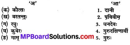 MP Board Class 10th Sanskrit Solutions Chapter 19 गुरुदक्षिणा img 1