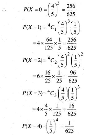 MP Board Class 12th Maths Book Solutions Chapter 13 प्रायिकता Ex 13.4 img 11