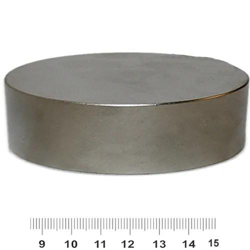 100mm x 30mm Huge Disc Strongest Neodymium Magnet N52 Ni