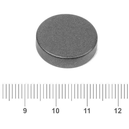 20mm x 5mm Disc Permanent Neo Magnet N45 Teflon