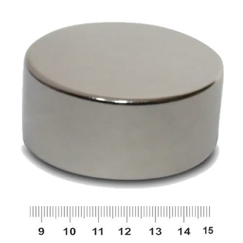 70mm x 35mm NdFeB Larger Disc Magnet N45 Nickel