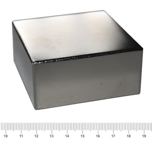 70 x 70 x 30mm Amazing Huge Block Magnet N42 Ni