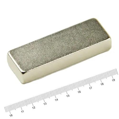 88 x 24 x 10mm Block Neodymium Strongest Magnet N42 Ni
