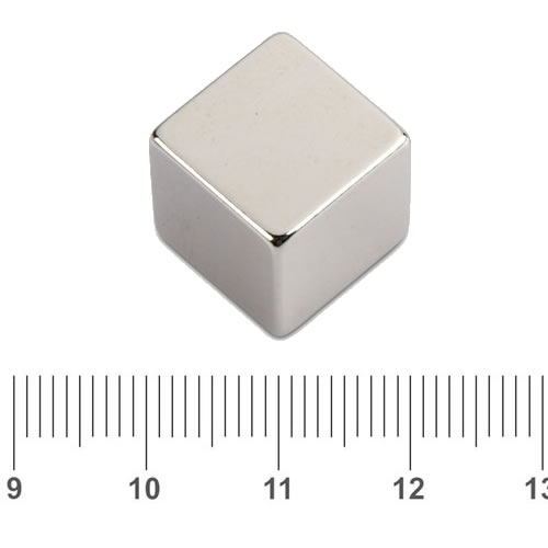 Cube Whiteboard Neodymium Magnet N45 20mm