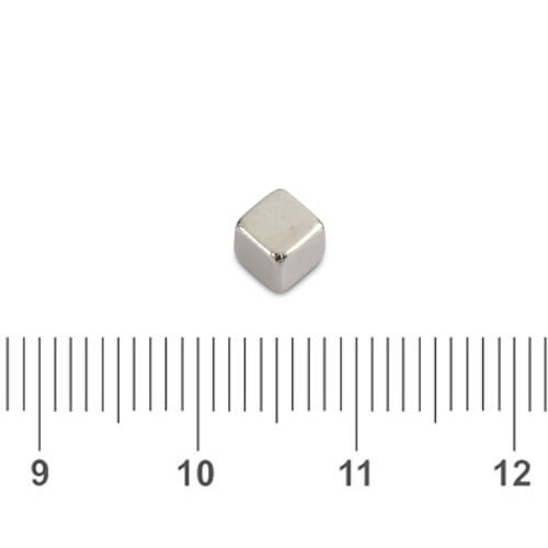 Small Cube Magnet N42 4mm
