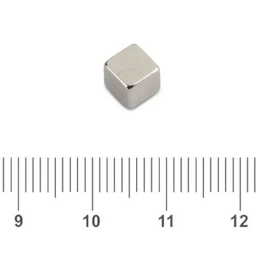 Small Neodymium Cube Magnet N42 5mm