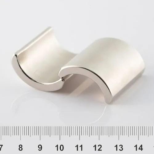 Arc Permanent Magnet Neodymium Nickel N35UH