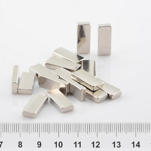 NdFeB Segment Magnet for Motor Ni N45H
