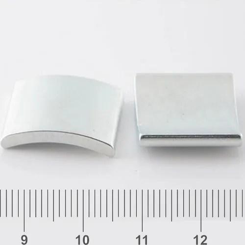 Rare Earth Segment Neodymium Magnet Zn N40H