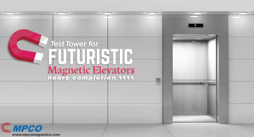 Futuristic Magnetic Elevators