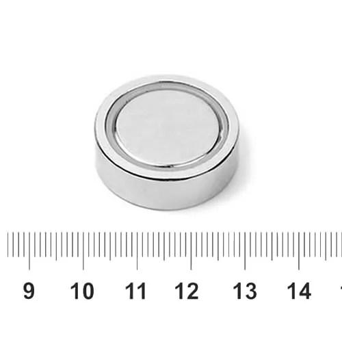 Glue-in Pot Magnet 28mm