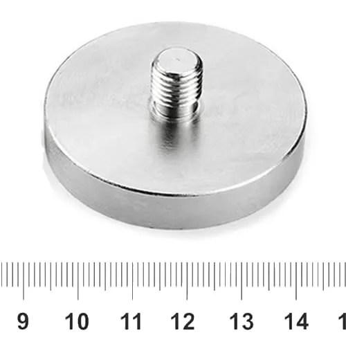 M8 Thread Stud Pot Magnet