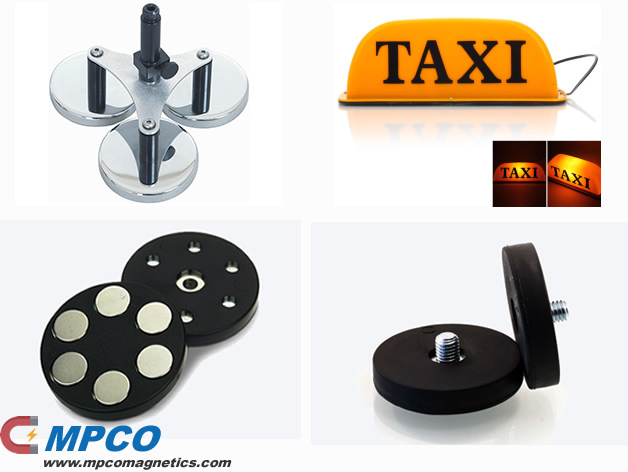 Taxi Sign Mounting Magnets