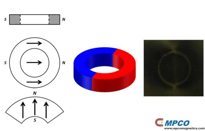 Diametrical-magnetized
