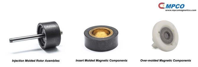 magnetic assemblies and magnetic components