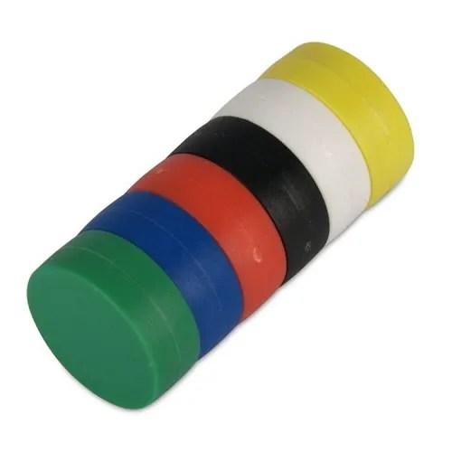 Plastic Coating Neodymium Whiteboard Magnets