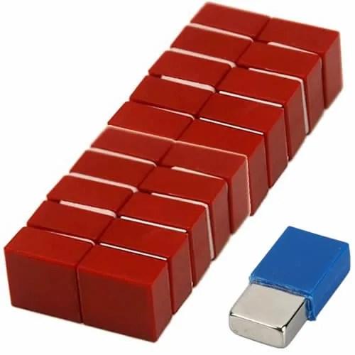 Polypropylene Coated Fridge Permanent Magnets