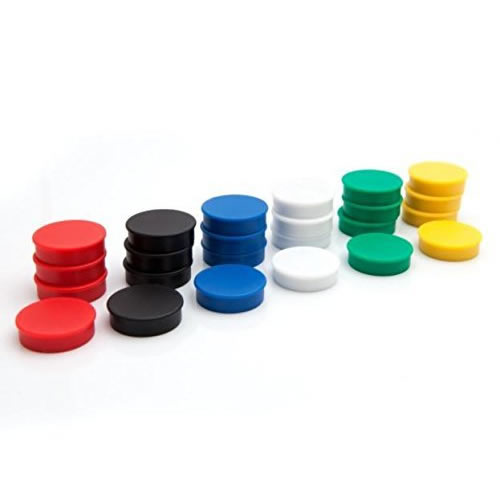 Refrigerator Ferrite Button Magnets