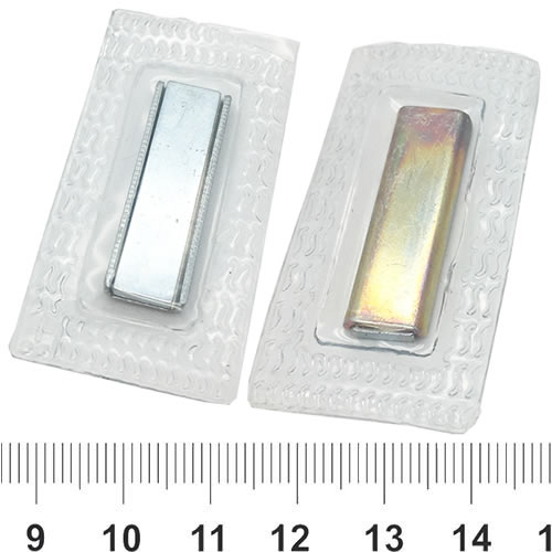 Rectangular Sewing Magnet Button