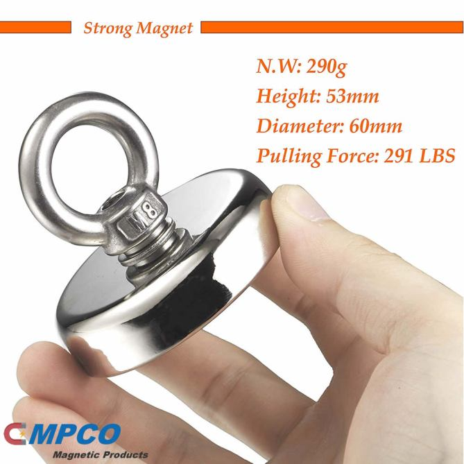 290 LBS Treasure Salvage Permanent Strong Magnet