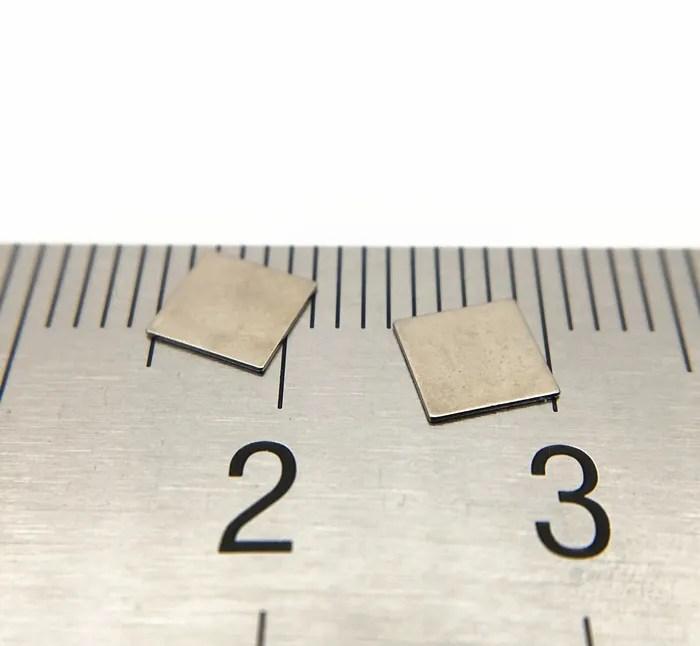 Micro Square SmCo Magnets