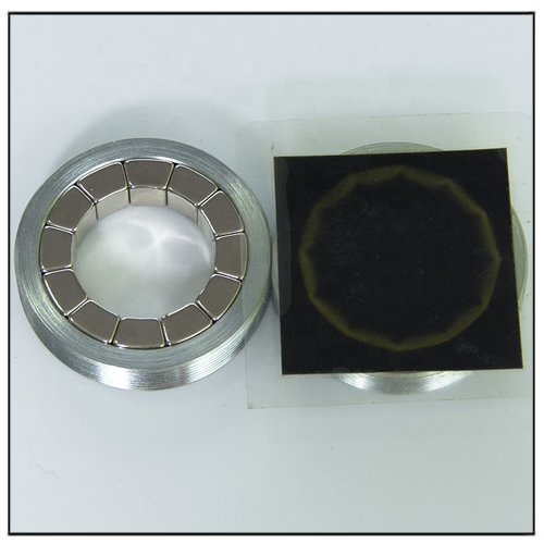 Radially Magnetized Magnetic Motor Part Assembly