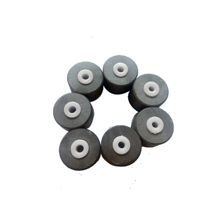 2-pole Radial Ferrite Ring Magnet