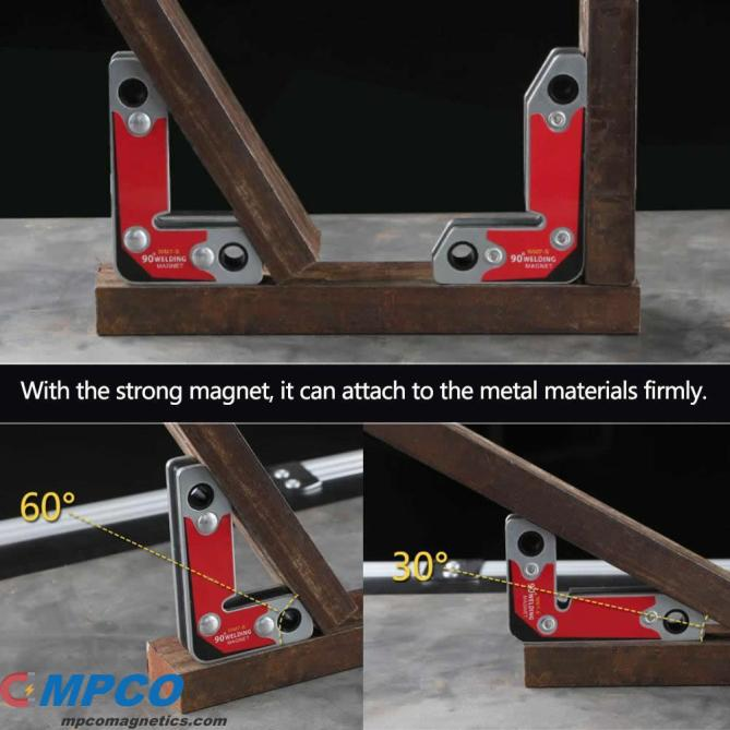 Strong 30 60 90 Angles NdFeB Magnetic Clamp