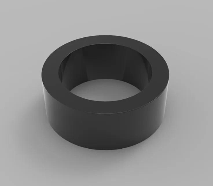 Black Epoxy Coated Sintered Neodymium Radial Magnet