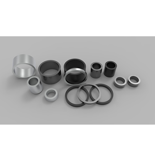 Radially Aligned Sintered NdFeB Magnets