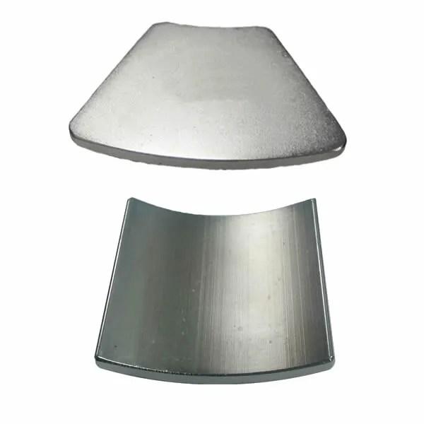 Neodymium Arc Segment Magnets