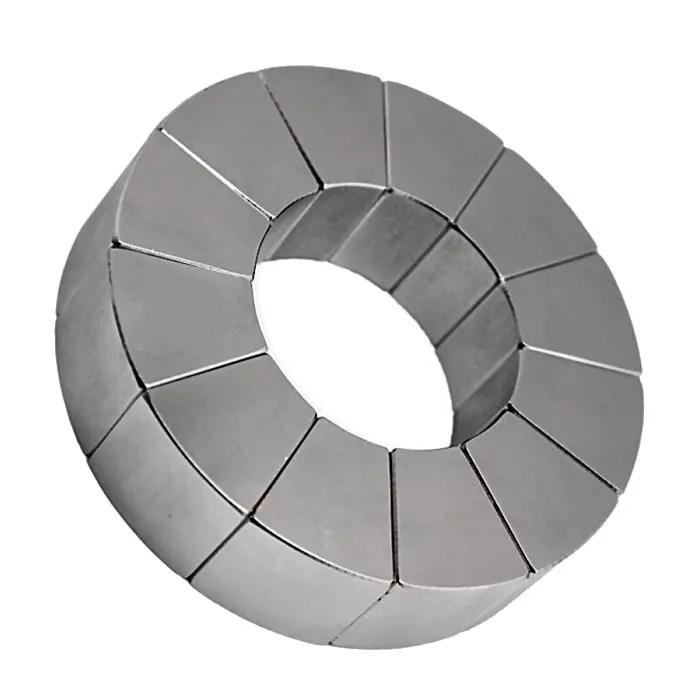 Stong NdFeB Arc Segment Motor Magnet