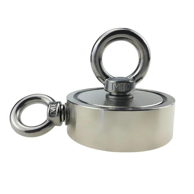 Neodymium Fishing Magnets with Eyebolt Hooks 200KG